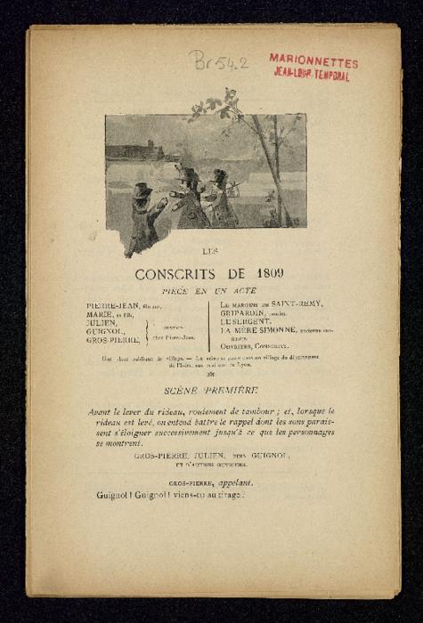 Les Conscrits de 1809