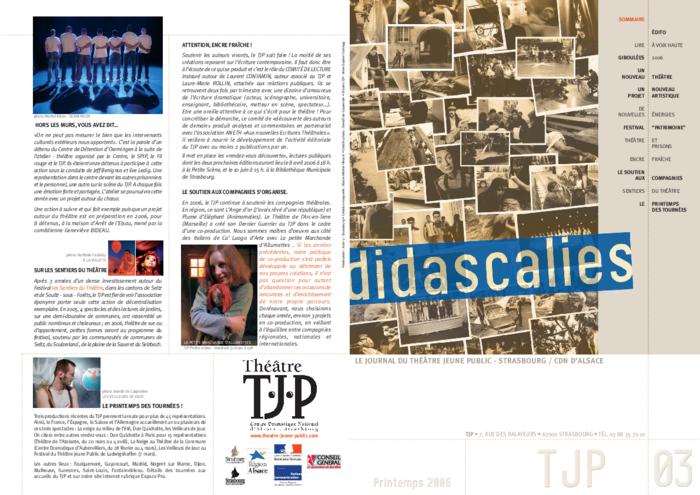 Didascalies, Didascalies, n° 3, printemps 2006
