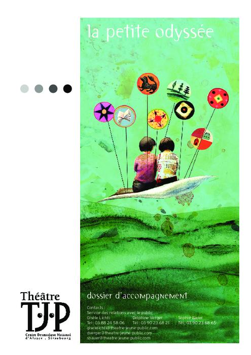 La Petite Odyssée, par Grégoire Callies, dossier pédagogique du TJP.