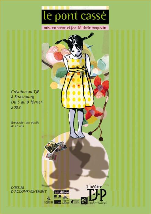 Dossier pédagogique TJP pour le spectacle Le Pont cassé, mise en scène Michèle Augustin