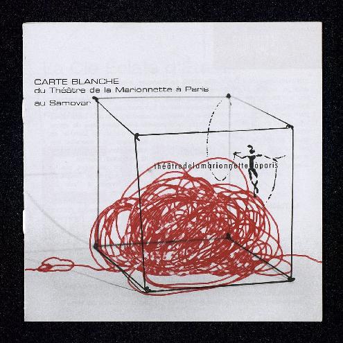 Carte blanche du Théâtre de la Marionnette à Paris au Samovar