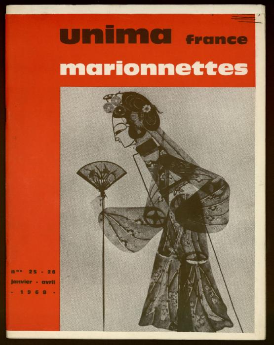 UNIMA - France, n°25-26 - janvier - avril 1968 - UNIMA France Marionnettes n°25-26