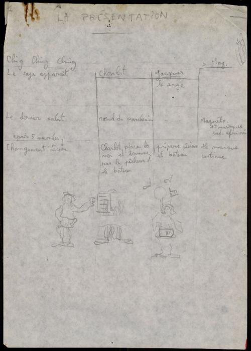 La Fille aux bras coupés, par la compagnie Théâtre Manarf, notes de mise en scène.