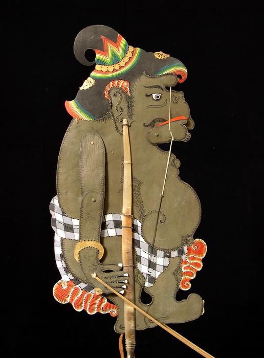 Ombre indonésienne de Bali, personnage de Tualen