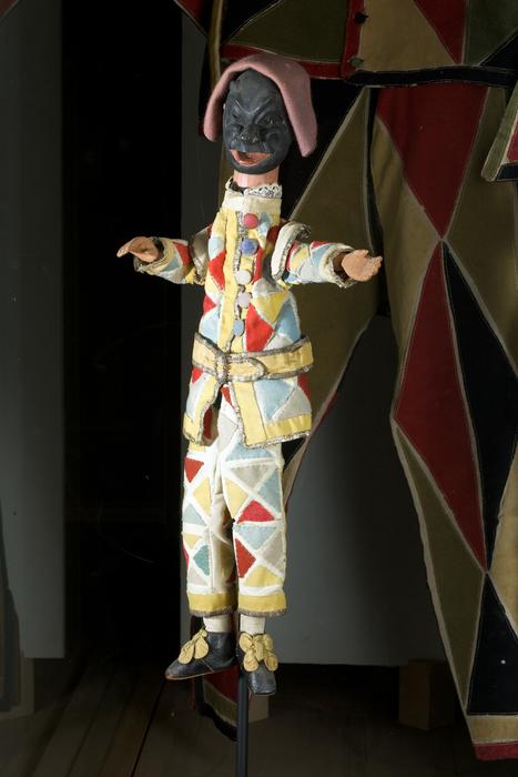 Arlequin, marionnette