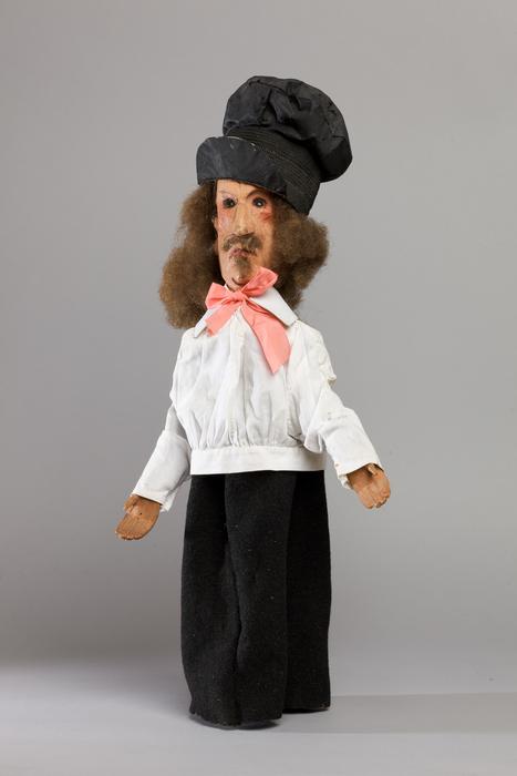 Arthur Dupinceau, artiste, marionnette