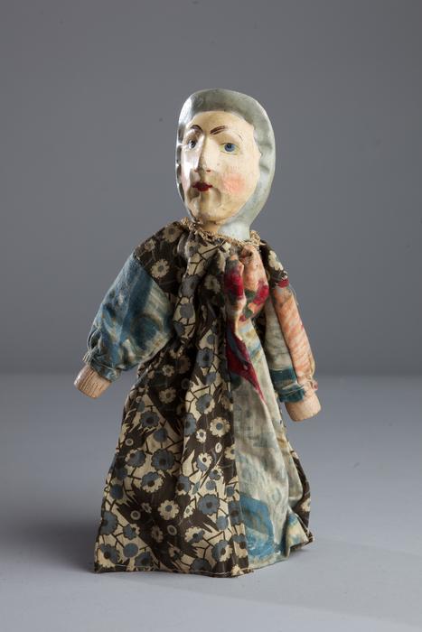 Bergère, marionnette à gaine allemande
