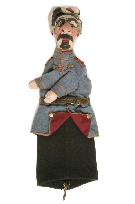 Gendarme, marionnette à gaine