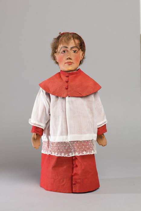 Sacristain de Nohant, marionnette
