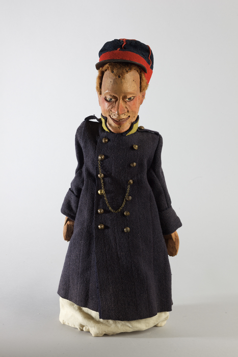 Soldat ou gendarme, marionnette