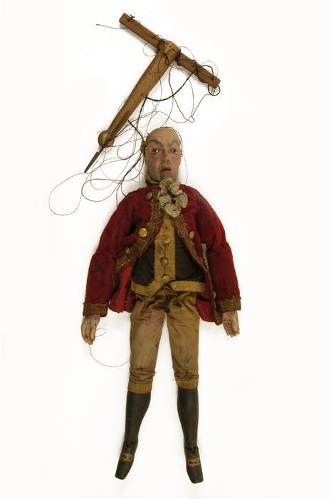 Père Cassandre, marionnette à fils