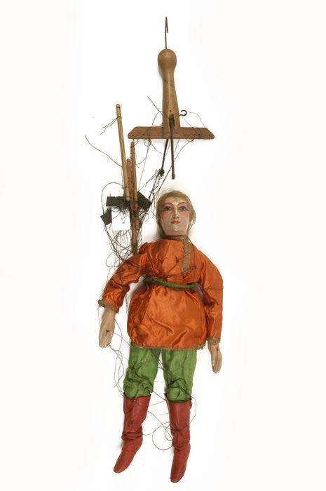 Danseur russe, marionnette à fils