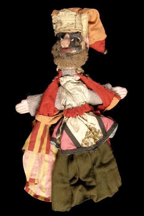 Bandit calabrais, marionnette à gaine