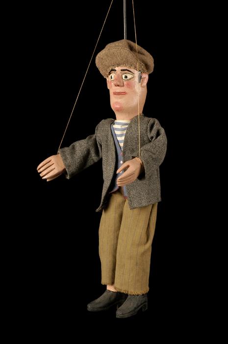 Tchot Blaise, marionnette à tringle et à fils