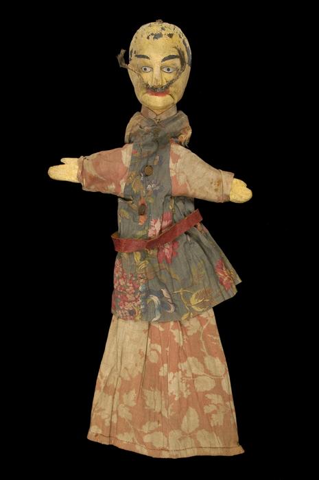 Chinois (?), marionnette à gaine