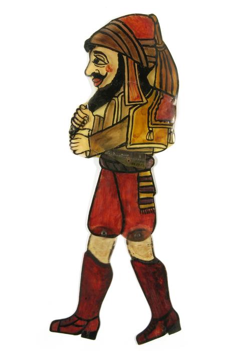 Adjavatis, silhouette de théâtre d'ombres