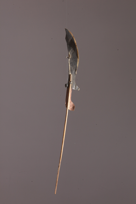 Silhouette de Wayang Kulit, sabre