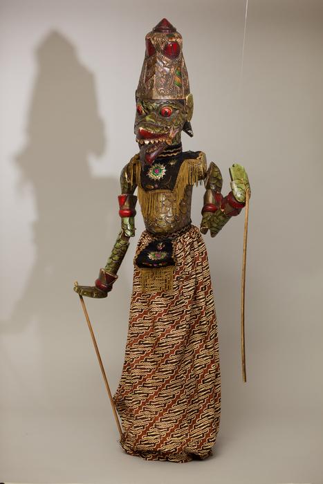 Marionnette à tige indonésienne de type wayang golek