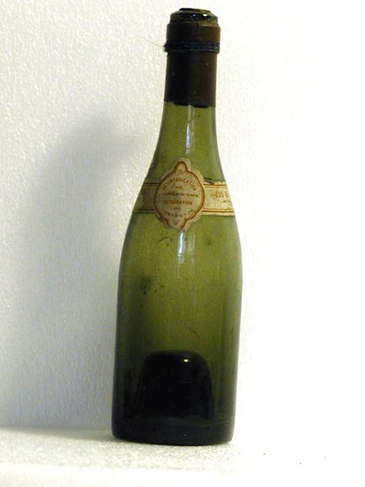Jus de raisin frais, bouteille de vin appartenant au personnage de Gnafron