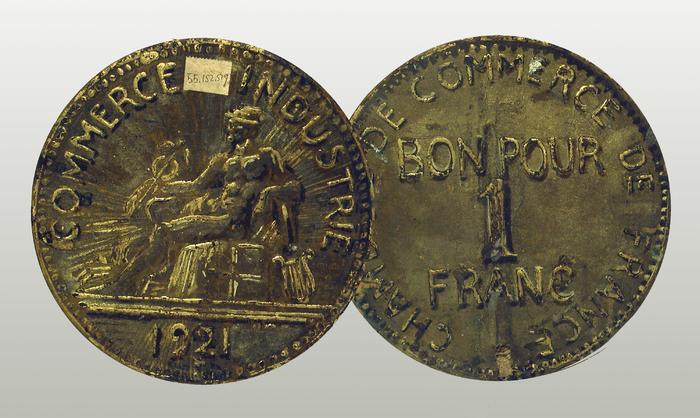 Bon pour 1 franc