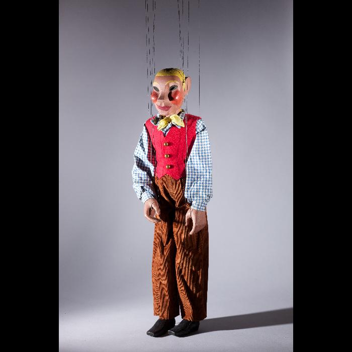 L'amoureux de Perrine, marionnette pour <i>Perrine était servante</i>