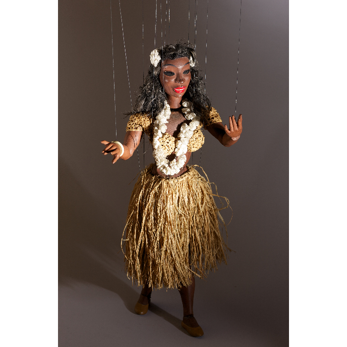 Danseuse hawaïenne