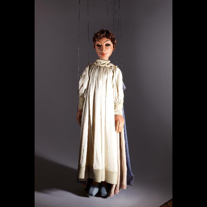 Saint Joseph, marionnette pour <i>La Crèche</i> (spectacle non réalisé).