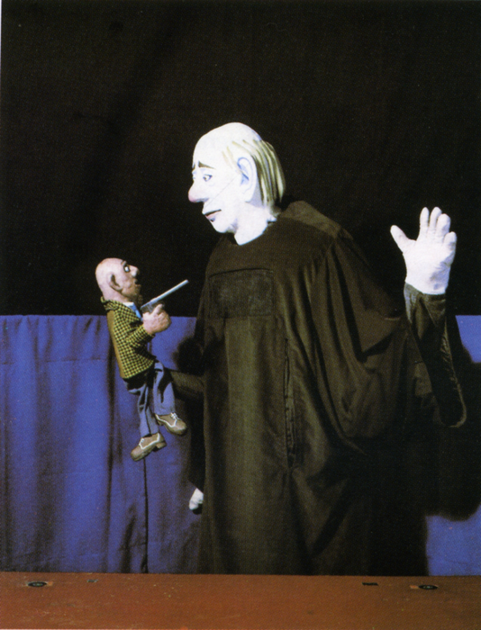 Le Vieil Homme-marionnette, par le Théâtre Le Manteau