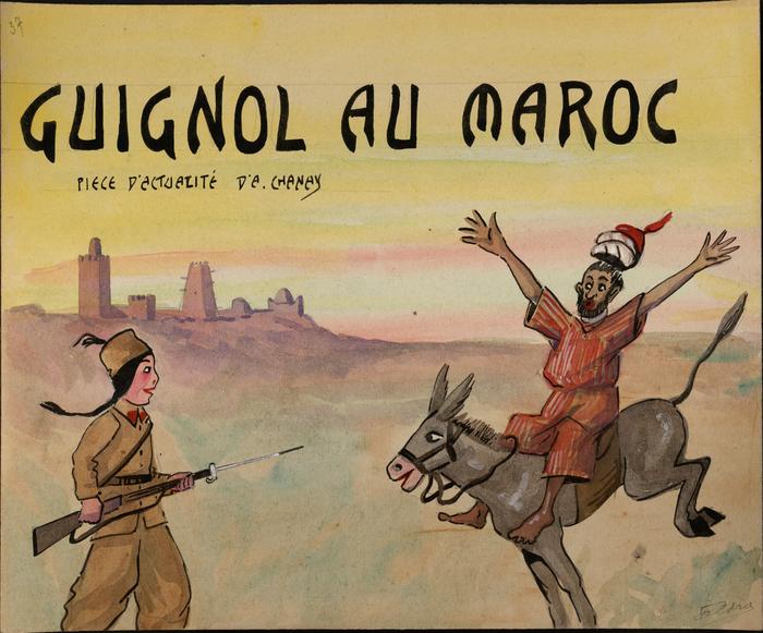 Guignol au Maroc, pièce d'actualité d'A. Chanay