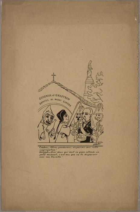 Guignol et Gnafron, ermites du Mont-Cindre