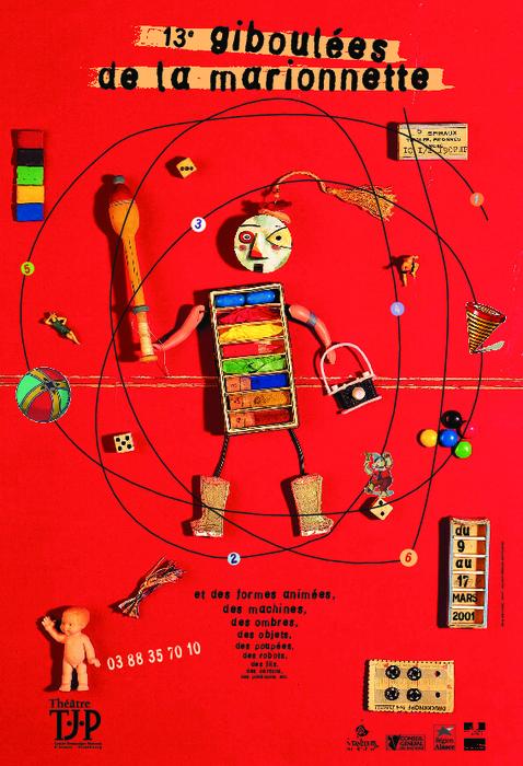 13e Giboulées de la Marionnette - 2001 - visuel