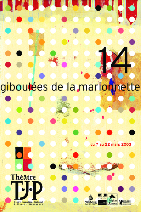 14e Giboulées de la Marionnette - 2003 - visuel