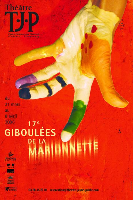 17e Giboulées de la Marionnette - 2006 - visuel