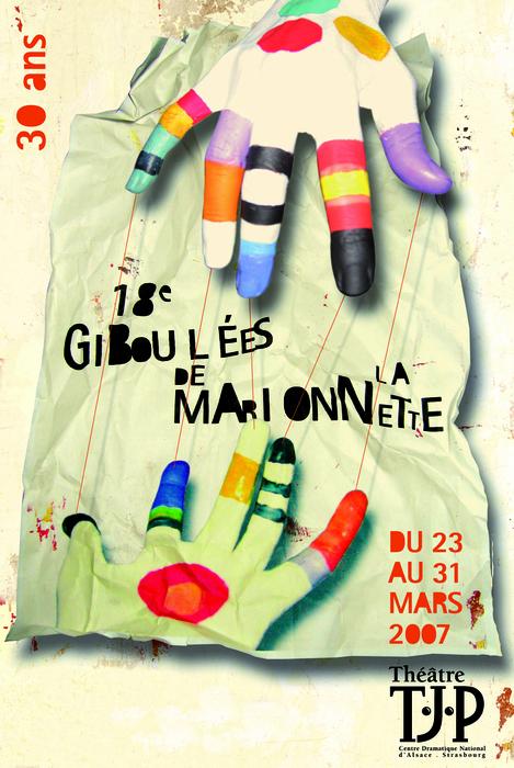 18e Giboulées de la Marionnette - 2007 - visuel