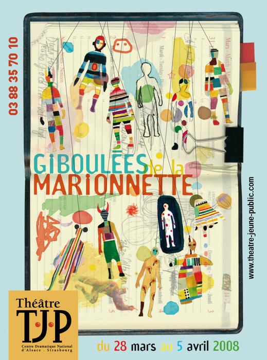 19e Giboulées de la Marionnette - 2008 - visuel