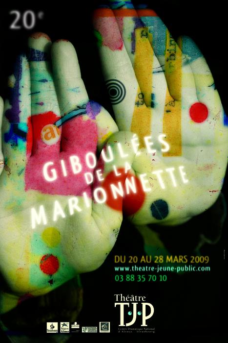 20e Giboulées de la Marionnette - 2009 - visuel