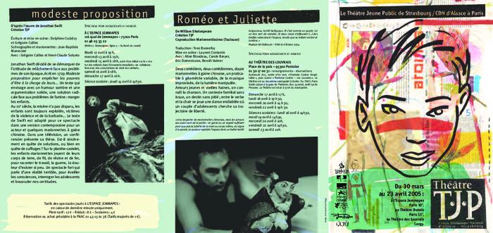 TJP à Paris - Jemmapes - flyer