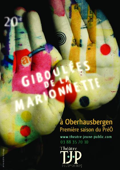 Tract des 20e Giboulées de la Marionnette à Oberhausbergen