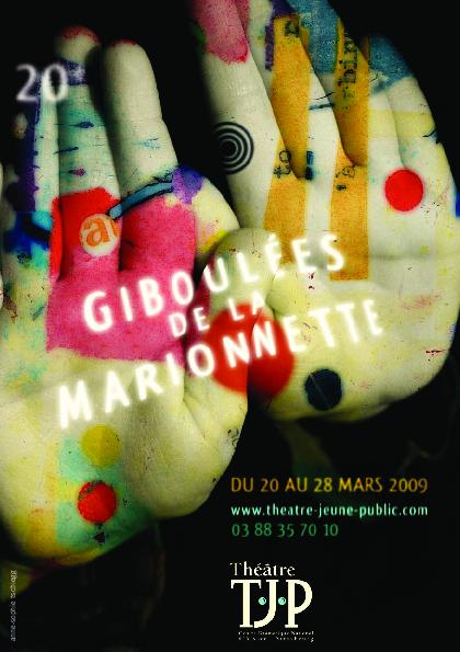 20e Giboulées de la Marionnette - tract Orlando / Cuniculus