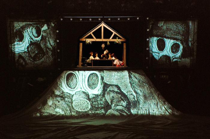 La petite Odyssée 3, par Grégoire Callies, photo de spectacle.