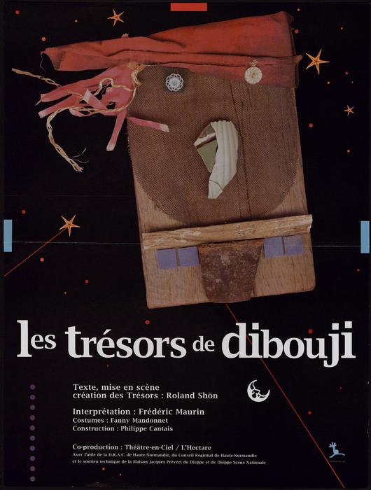 Les Trésors de Dibouji, par Shôn & Théâtrenciel, affiche du spectacle