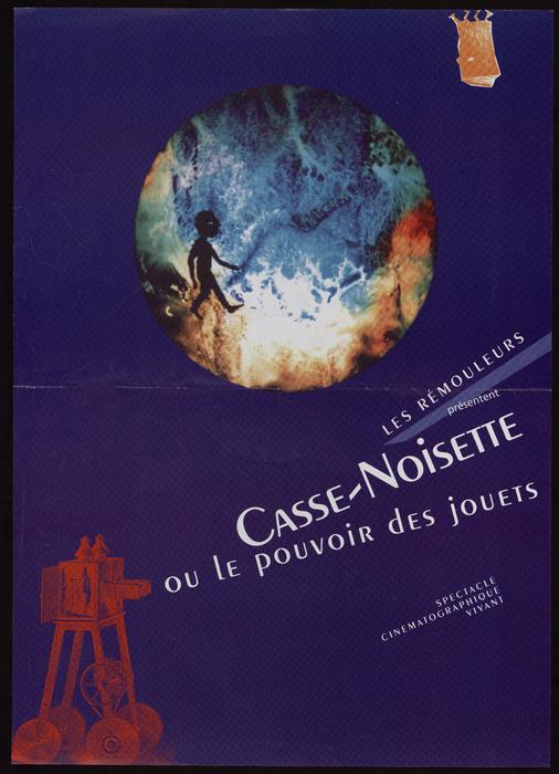 Casse noisette ou le pouvoir des jouets, par la compagnie Les Rémouleurs, affiche du spectacle