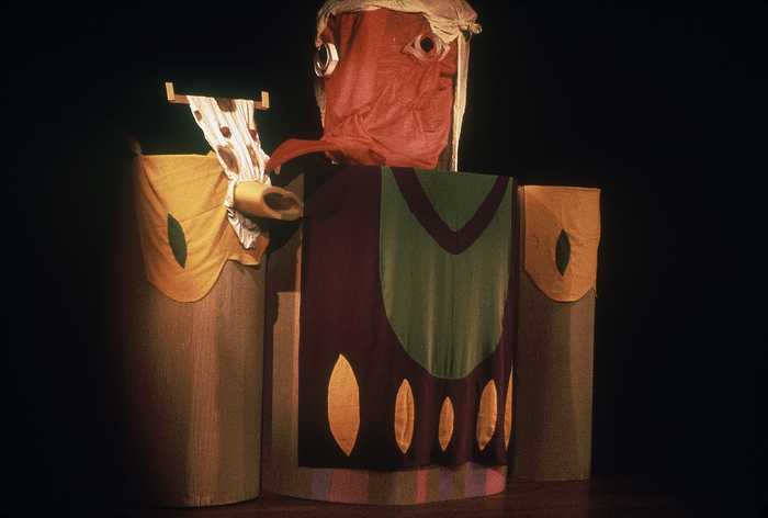 Le Petit Gargantua, par le Théâtre sur le Fil, photo de spectacle.