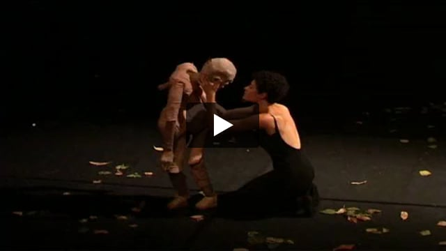 Du corps à la marionnette, stage dirigé par Hoïchi Okamoto.