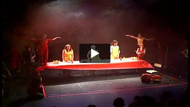 Ulysse et moi, atelier-spectacle dirigé par Christian Carrignon avec la 6e promotion de l'ESNAM.
