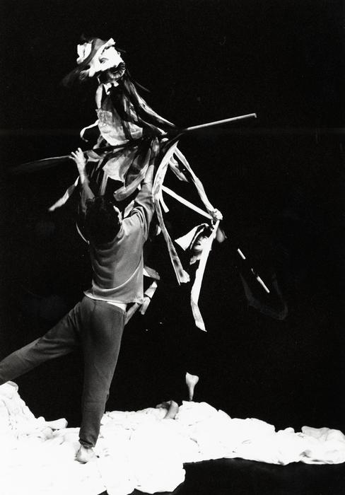 Ulysse, atelier-spectacle dirigé par Jean-Louis Heckel avec la 2e promotion de l'ESNAM.