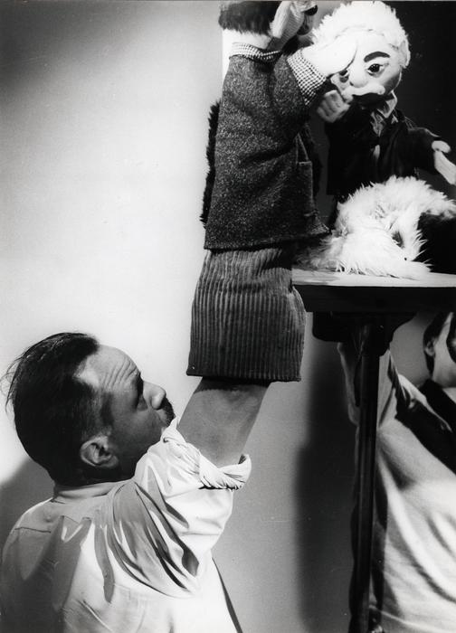 L'Eau enchantée, par la compagnie des Marionnettes d'Alain Recoing.